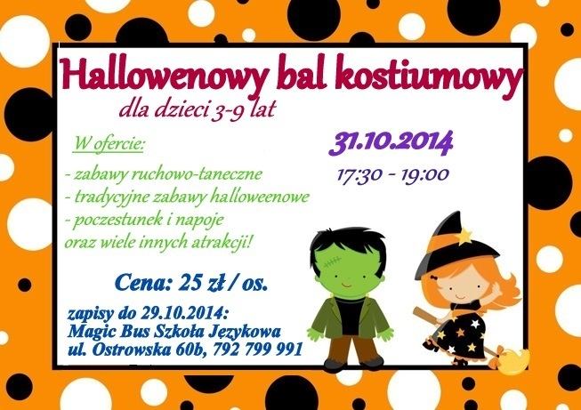 Childrens Fancy Dress Halloween Party Invitation mm