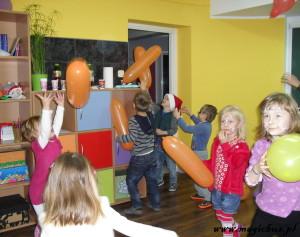 Tańcowanie z balonami